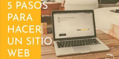 pasos para hacer un sitio web